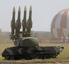 Russia And The Former Soviet by Buk Missile Launcher Shown In Russian Separatist Stronghold Before