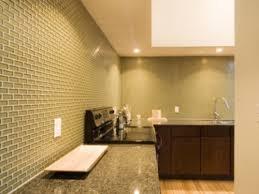 modern yet inexpensive shiny glass backsplash home design and