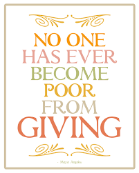 6 quotes about giving