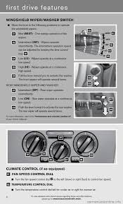nissan versa windshield wipers nissan versa hatchback 2012 1 g quick reference guide