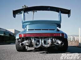 Porsche Carrera 1976 Beastly 1976 Twin Turbo Porsche 911 Rear End 1600x1200 Os