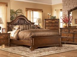 Bed Designs In Wood 2014 Bedroom Design San Martin King Elegant Wood W Leather Bedroom Set
