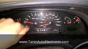 tanin auto electronix 2004 2008 ford e series cluster repair