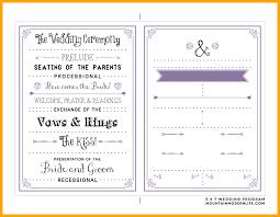 wedding program fans kit fascinating printable wedding program mountainmodernlife pic of diy