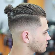 ponytail haircut for me shaved sides 19 samurai hairstyles for men