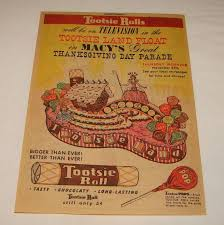 macy s thanksgiving day parade 1924 1954 1980 vintage ads
