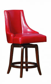 red bar stools ikea red leather swivel bar stools red leather