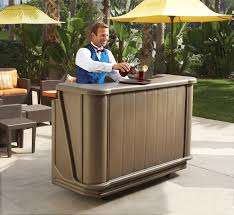 portable outdoor bar ideas home design and decor image of simple