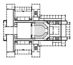 opera house floor plan theatre database theatre architecture database projects