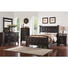 Upholstered Headboard Bedroom Sets Linen Tufted Upholstered Queen Bed Set