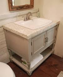 Build Your Own Bathroom Vanity Cabinet Diy Open Shelf Vanity With Free Plans Inside Design Your Own