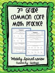 3rd grade common core math practice this product provides students
