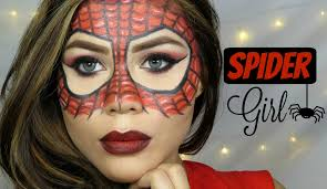 Girls Halloween Makeup Spider Woman Make Up Tutorial Halloween Cristina Vives