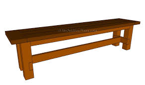 Free Wooden Bench Plans Diy Wood Bench Plans Homeca