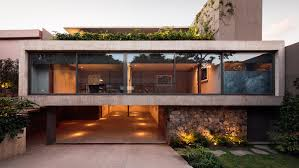 Sliding Glass Walls Mexico City House By Jjrr Arquitectura Features Sliding Glass