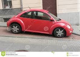 volkswagen beetle red red volkswagen new beetle editorial image image of beetle 61529200