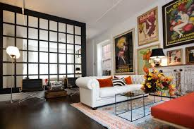 Chesterfield Sofa Living Room by Large Wall Mirror For Living Room Triple Rectangle Frame Less Also