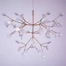 branch chandelier postmodern firefly cafe restaurant chandelier artist design