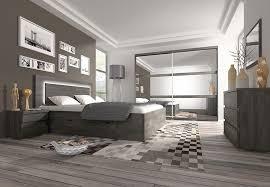 chambre adulte homme chambre adulte complète couleur chêne noir contemporaine darcia
