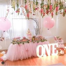 baby girl 1st birthday themes table ideas for birthday party nisartmacka