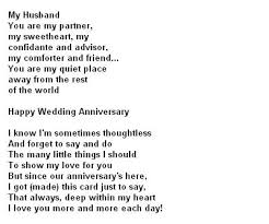 anniversary poems for husband you can visit personification