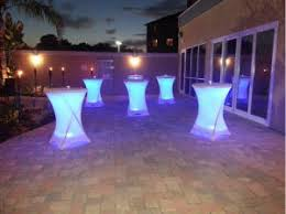 Plastic Bar Table China 80cm Outdoor Furniture High Top Plastic Foldable Round Bar