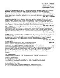 commercial appraiser cover letter