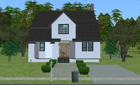 Twilight House Floor Plan Mod The Sims Swan House From Twilight Furnished And Unfurnished