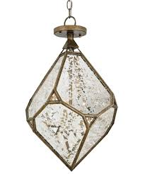 Currey Lighting Fixtures Currey And Company 9732 Glace 14 Inch Wide 3 Light Mini Pendant