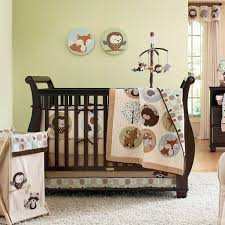 Childrens Bedroom Bedding Sets Bedroom Design Brown And Stripped Crib Bumper Baby Bedding Set