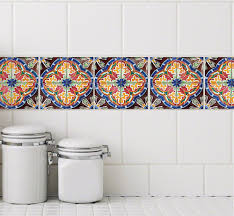 Tile Decals For Kitchen Backsplash by Tile Stickers Stylish Tattoos For Your Bath And Kitchen Tiles