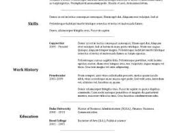 attractive resume templates formal resume sample format sample model resume template and aaaaeroincus great free downloadable resume templates resume format with attractive goldfish bowl and seductive medical assistant