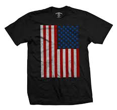 Pot Flag Seven Leaf Pot Leaf Stars American Flag Black T Shirt U2013 Men U0027s At