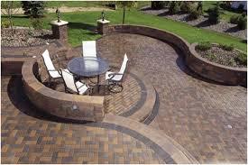 Small Backyard Paver Ideas Backyards Charming Backyard Paver Backyard Brick Paver Patio