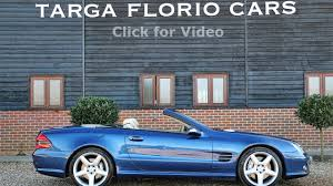 mercedes sl55 amg 5 5 v8 5 speed automatic in jasper blue metallic