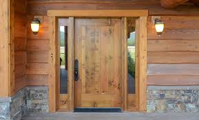 Solid Exterior Doors Wood Doors Manufactured By Rbm Lumber Using Montana Species Wood