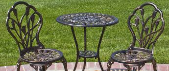 Wrought Iron Patio Tables The Benefits Of Iron Patio Furniture Furniture Wax U0026 Polish