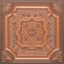Faux Tin Ceiling Tiles Drop In by Copper Patina Ceiling Tile Windows U0026 Walls Pinterest Ceiling