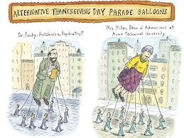 alternative thanksgiving day parade balloons the new yorker