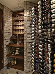creative wine cellar solution design using stacked boxes wine