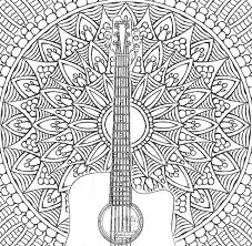 coloring pages acoustic guitar more pins like this at