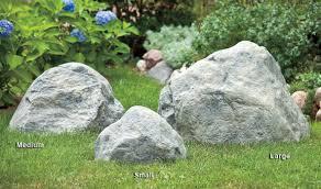 Artificial Garden Rocks Pond Yard Décor Airmax Eco Systems Non Vented Faux Rock Cover