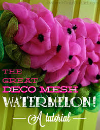 mardi gras outlet deco mesh party ideas by mardi gras outlet summer watermelon wreath tutorial
