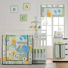 Gender Neutral Nursery Bedding Sets by Amazon Com Abc Animal Friends 10 Piece Crib Bedding Set Crib