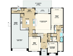 Traditional Floor Plan Bimini Floor Plan At Cypress Reserve In Winter Garden Fl Taylor