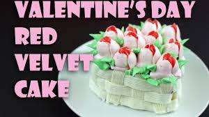 vegan red velvet cake for valentine u0027s day youtube