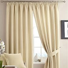 Elasticated Valance Pencil Pleat Curtains The Mill Shop