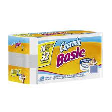 Charmin Bathroom Amazon Com Charmin Basic Toilet Paper 16 Double Rolls Health