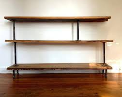 Black Pipe Bookshelf Bookcase Industrial Modern Rustic Bookcase Industrial Modern