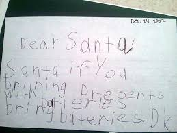 santa letters he writes a letter to santa but i never expected him to say this
